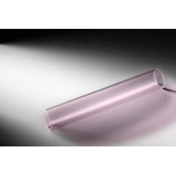 Tube en verre Borosilicate PINK