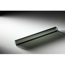 Tube en verre Borosilicate TRANSPARENT BLACK